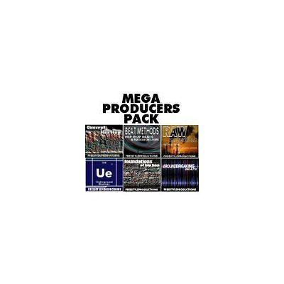 6 HIP HOP R&B TRAP LOOPS CDs MV-8000 FRUITY REASON 3.0 FL STUDIO 11 .WAV FILES