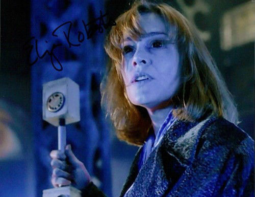 Doctor Who Eliza Roberts DOUBLE Signed 8x10 Autograph Photo Dr Who