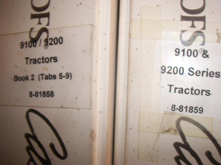 CASE 9100 9200 SERIES TRACTOR SERVICE SHOP WORKSHOP REPAIR BOOK MANUAL SET