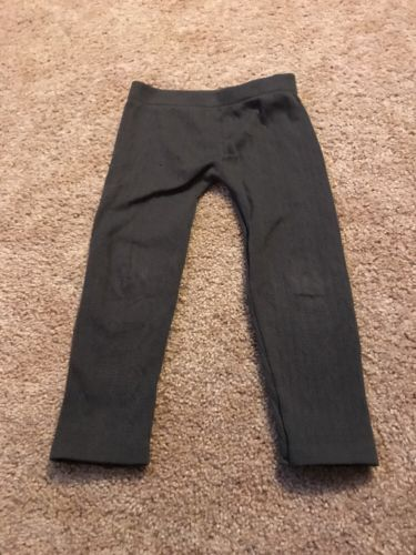 Star Ride Toddler Girls Gray Thick Tights Size 4t