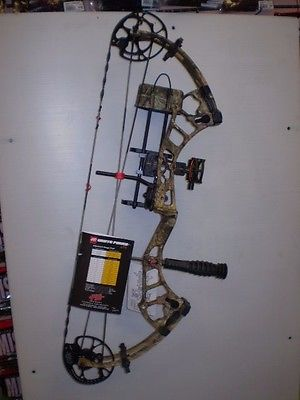 2017 PSE BRUTE FORCE LITE MOSSY OAK COUNTRY  CAMO- LEFT HANDED 70#  RTS PACKAGE
