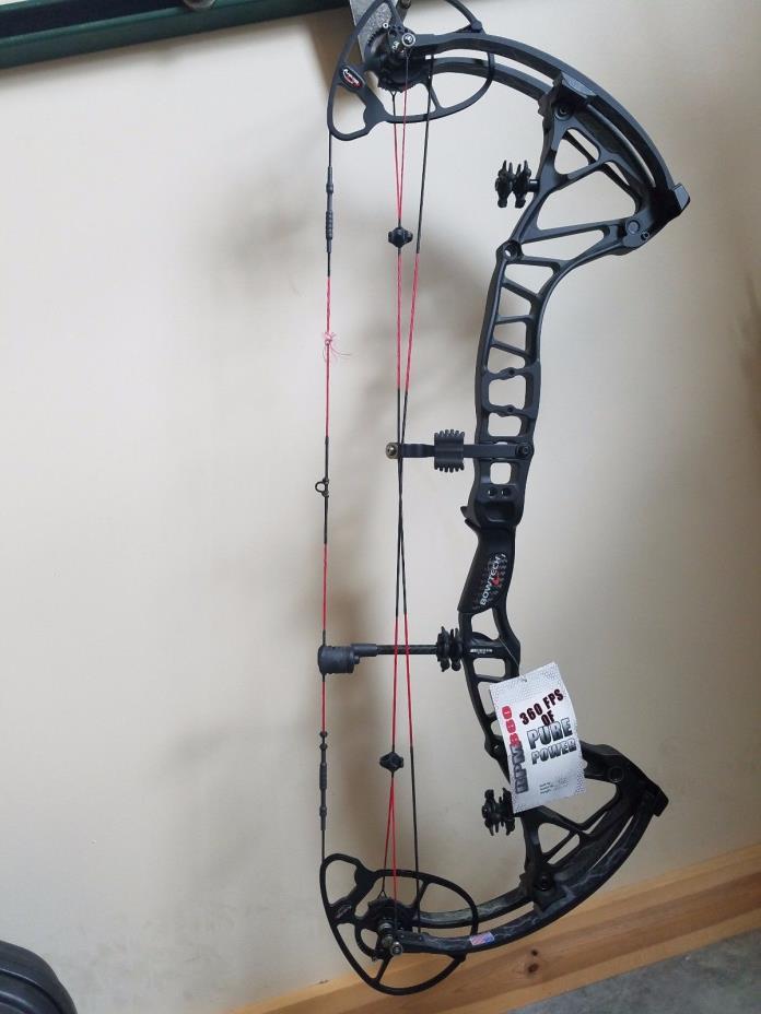 Bowtech RPM 360 Black 60# Compound Bow