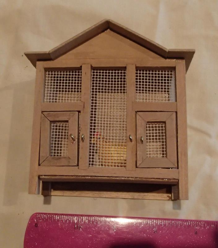 Dollhouse 1:12 Chicken Coop