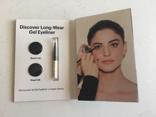 Bobbi Brown The Secret to Standout Eyes Mini Palette Black & Steel Ink w/ Brush