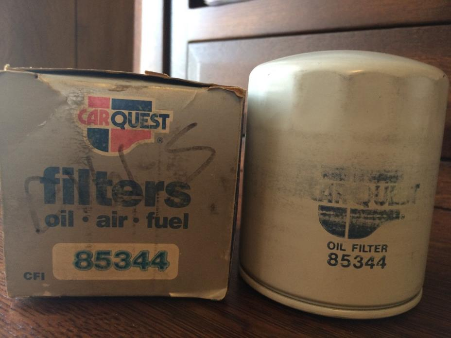 CAR QUEST CARQUEST PREMIUM OIL FILTER 85344 in Box