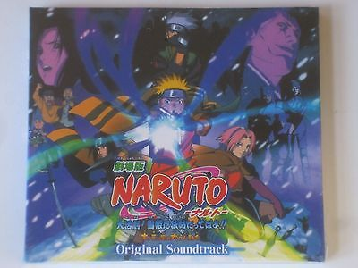 New Naruto OST CD the Movie Ninja Clash in the Land of Snow Original Soundtrack