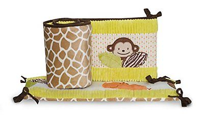 Carter's All Around Bumper, Wildlife (Discontinued by Manufacturer) 4 Piece Set