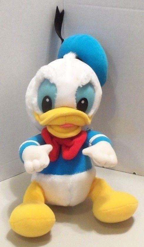 DONALD DUCK Stuffed Animal Plush Vintage 1984 Disney PlaySkool 15 inch Baby Toy