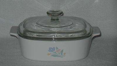 Corning Ware Friendship 2 Liter Casserole Baking Dish A 2 B with Pyrex Lid