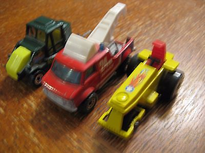 Vintage Matchbox Lesney -Street Cleaner, Rod Roller, Breakdown Van