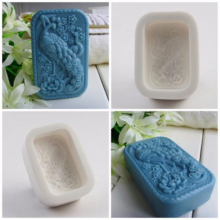 Soap Making Supplies Molds Lucky Peacock Art And Craft Supplies Rectangular Mold