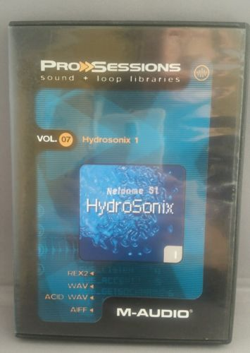 M-Audio Pro Sessions Sound + Loop Libraries CD Vol. 7 Hydrosonix