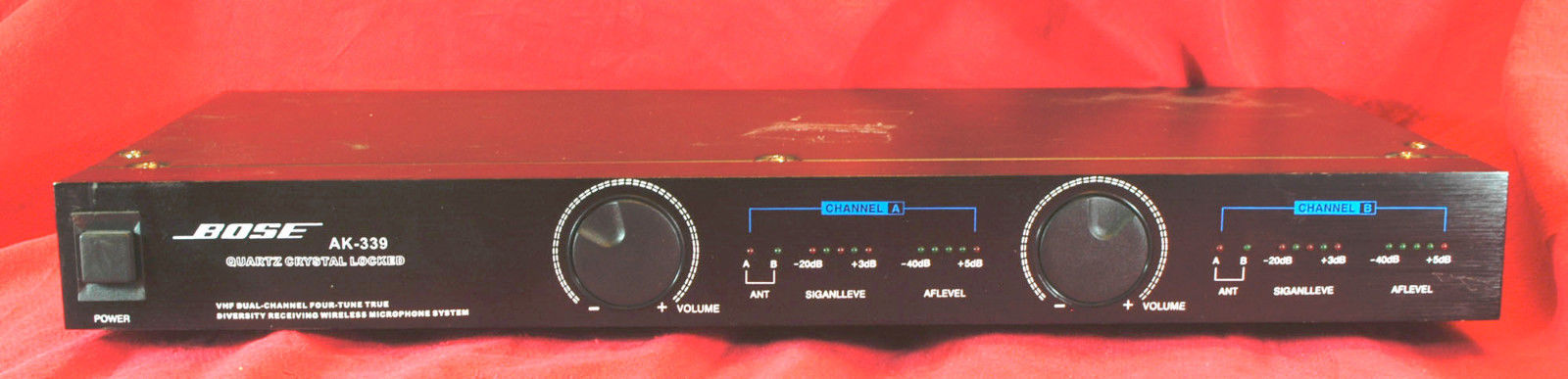 Bose AK-339 dual wireless microphone receiver