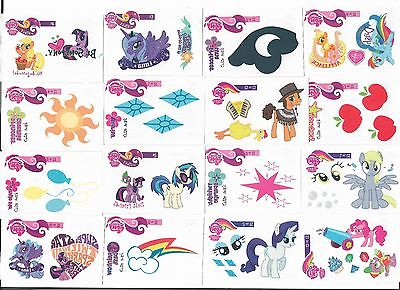 MLP Friendship is Magic Trading Card Tattoo Set!