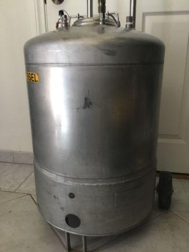 20 Gallon 316L SS Vessel Pressure Tank  Alloy Products 4 Ports 6
