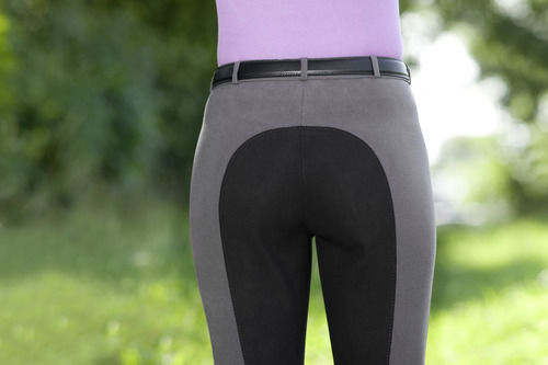 Breeches, Full Seat Gray with Black