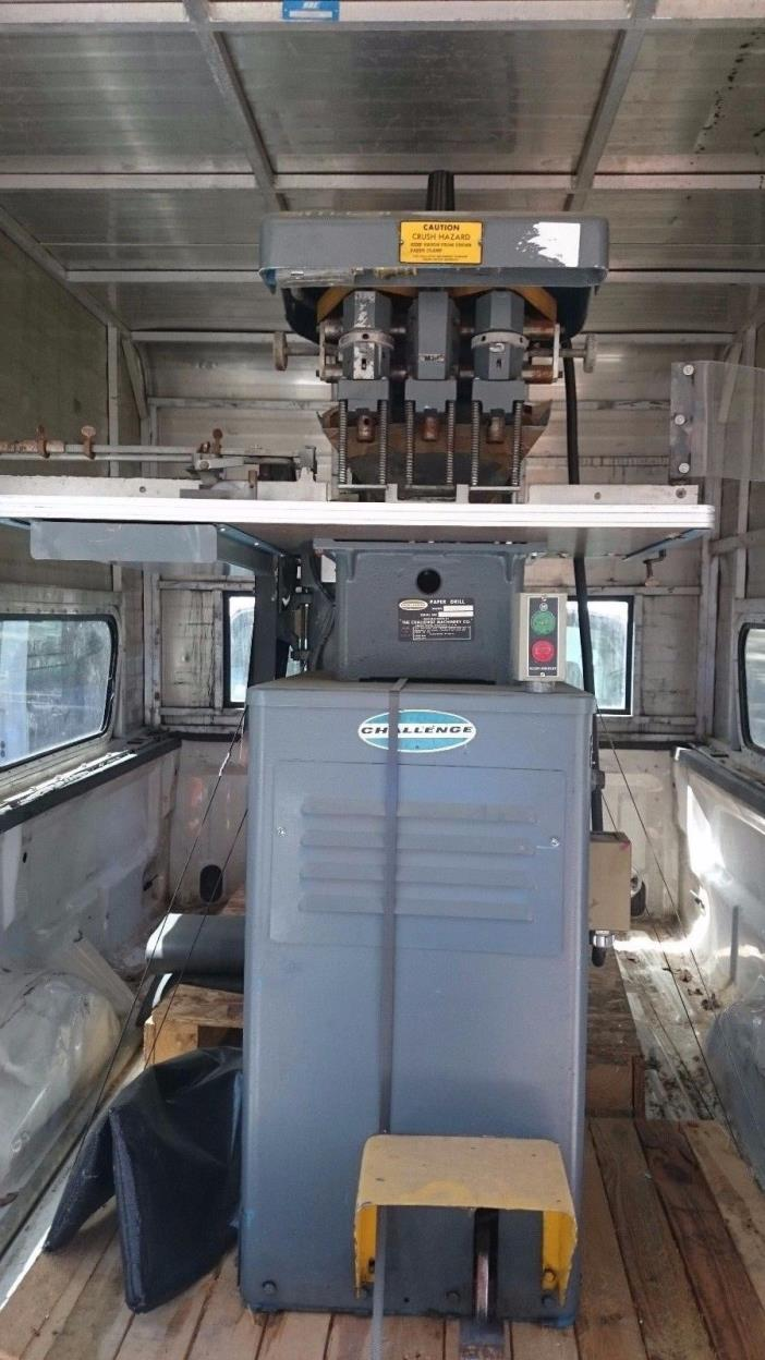 Challenge Paper Drill EH-3A 3 Head