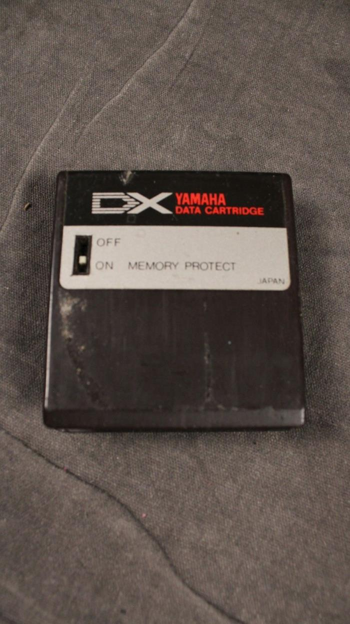 Yamaha dx7 data cartridges for sale classifieds for Yamaha collinsville il