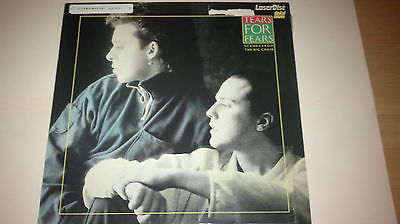 Tears For Fears Scene From the Big Chair Laserdisc (Discount Shipping)