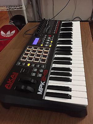 Akai MPK249 USB MIDI Keyboard & Pad Controller