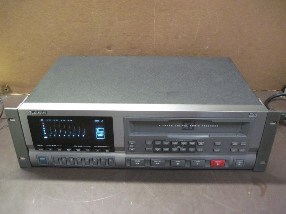 Alesis ADAT 8-track Digital Audio Recorder