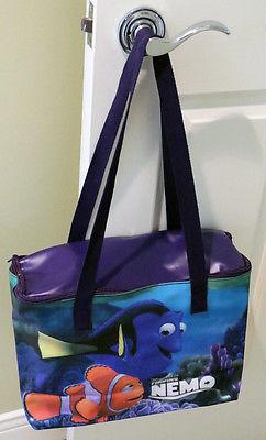 FINDING NEMO Walt Disney Pixar VINYL BAG zipper top NEVER USED Dory