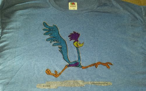 Vintage 1966's Roadrunner Warner Bros. Inc. Shirt XL