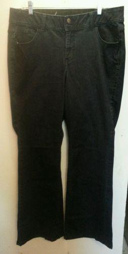 Lane Bryant Maternity jeans.  Size 16. Flare.  EUC  J5