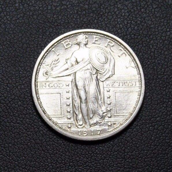 1917 Type 1 Standing Liberty Silver Quarter *HIGHER GRADE*