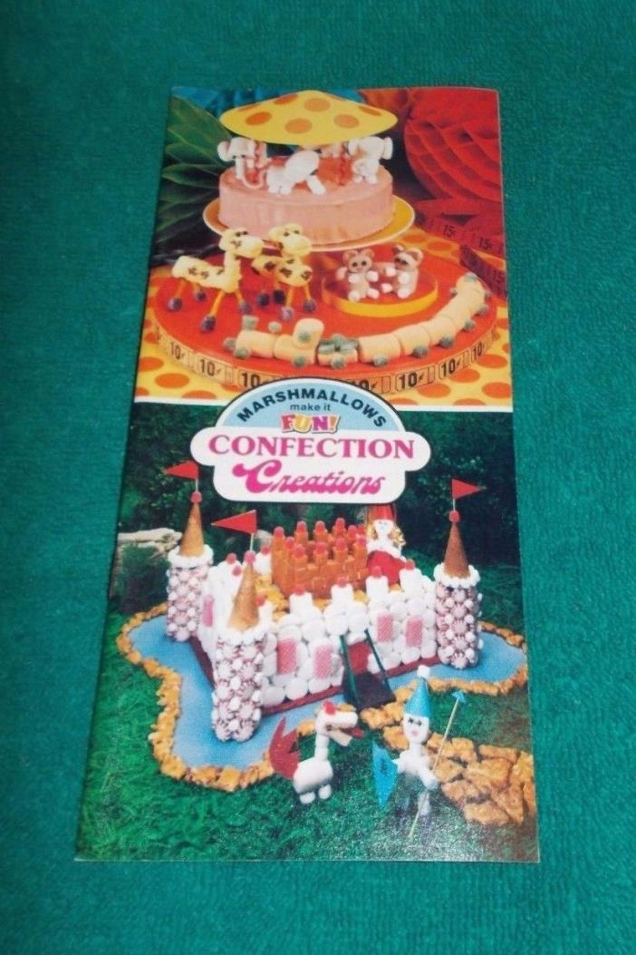 Vintage Advertising Marshmallow Craft and Recipe Booklet - Kraft 1979