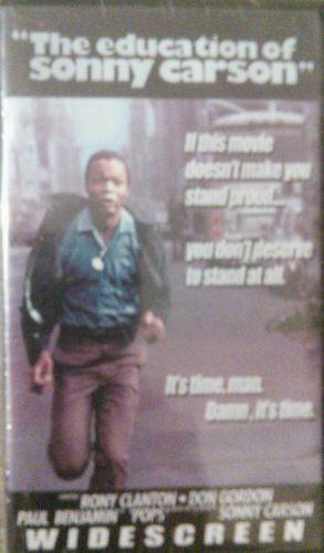 Education Of Sonny Carson New VHS 1974 Rony Clanton
