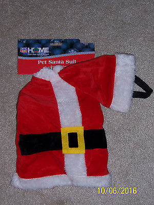 Darling Christmas Santa Suit w/ Hat, pet/dog costume, Medium  NWT!