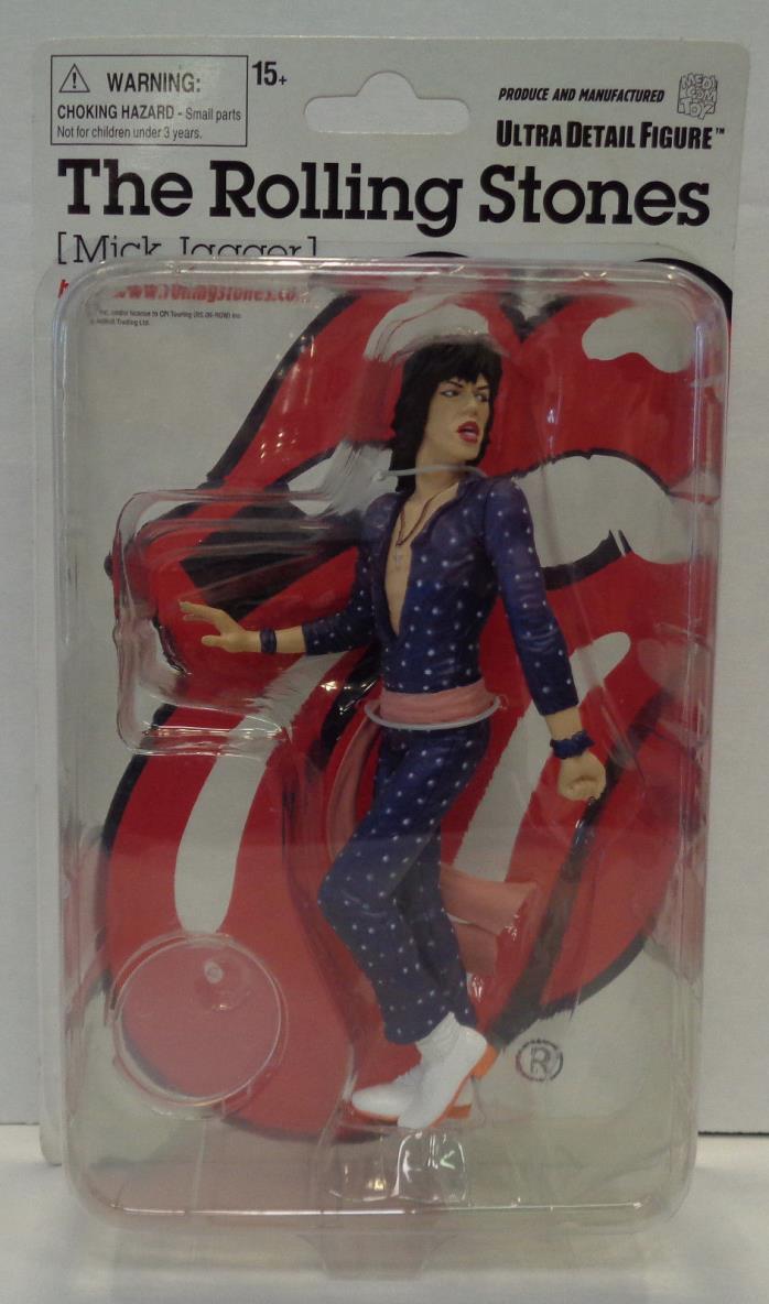 The Rolling Stones Mick Jagger Ultra Detail Figure (2008) Medicom New