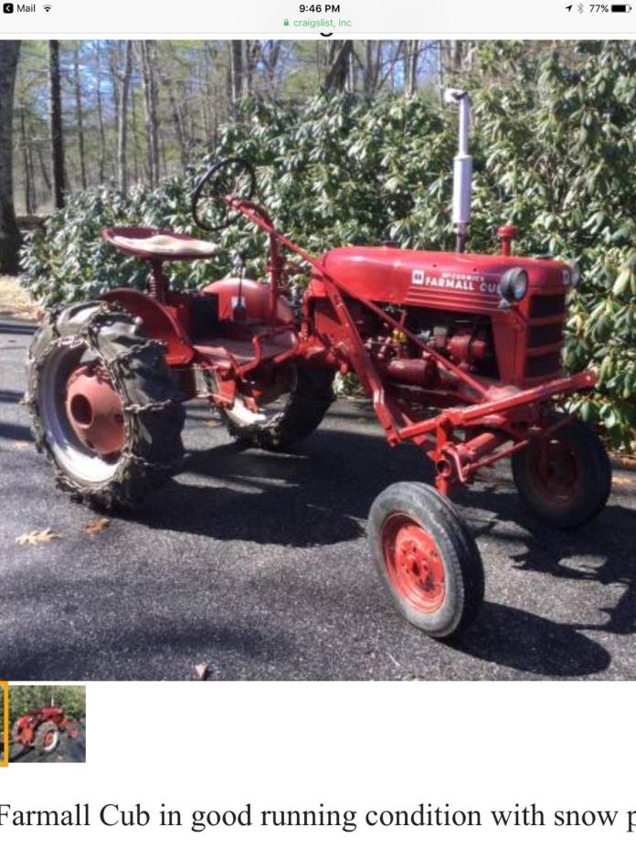 Farmall Tractor Plows : Farmall plow for sale classifieds