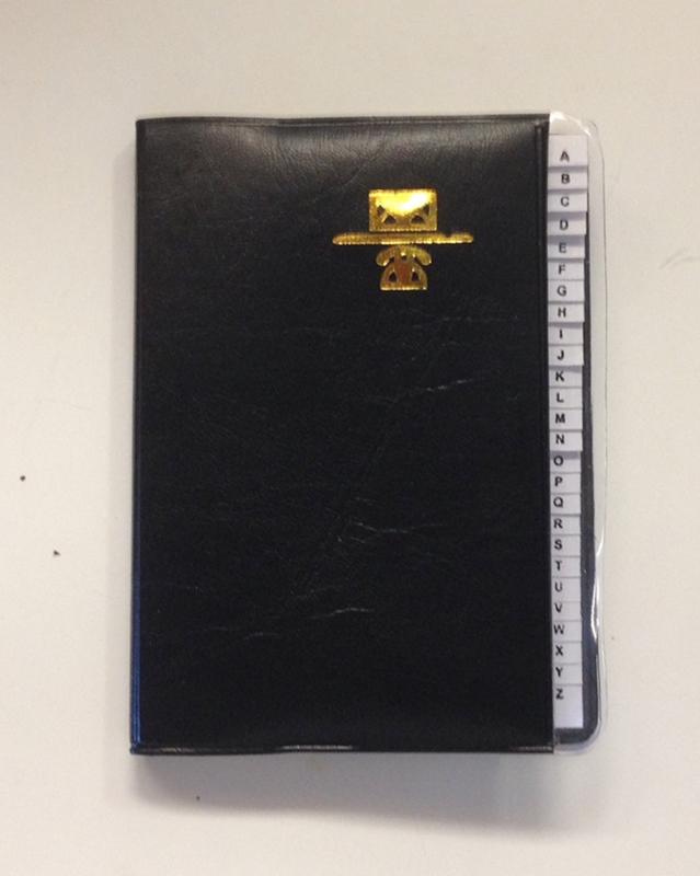 Kamset Address Telephone Book Small 3.25