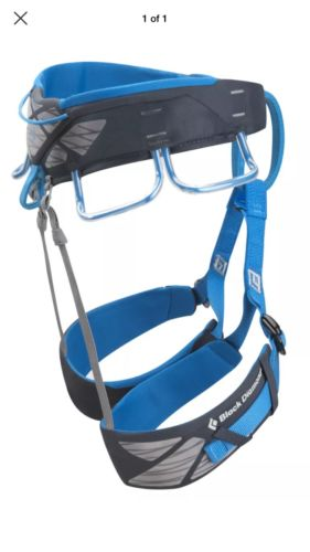 Black Diamond Aspect Harness-Small-Deep Blue