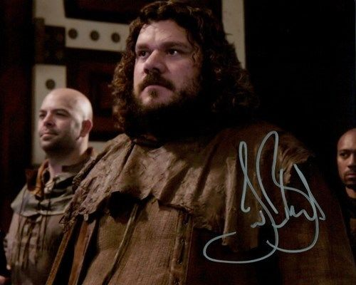 Jason Burkart - Little John TV's Once Upon A Time Signed 8x10 Autograph Photo