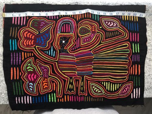 Kuna Hand-Stitched Mola San Blas Island Panama