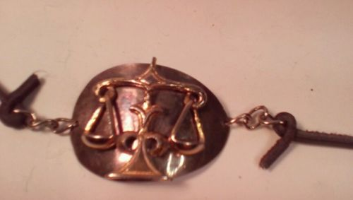 Libr Setp. sign of the zodiac bracelet with chain