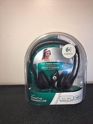 Logitech H390 Black Headband Headsets