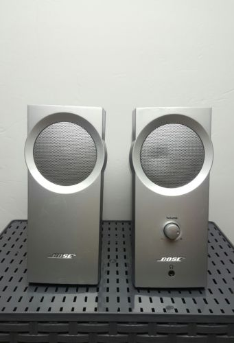 Bose Companion 2 Series I Multimedia Speaker System (Silver) with Power Cord
