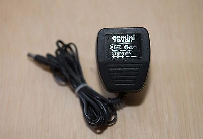 Genuine Original Gemini AC Adaptor Power Supply AM-12500 12volt  500ma