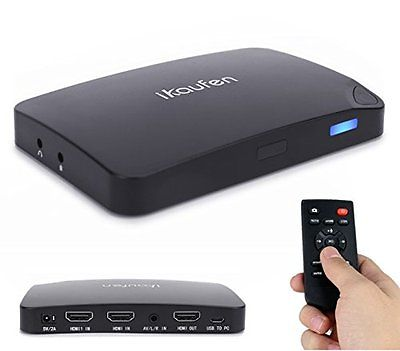 ikaufen Capture Box card game and streaming 4K HDMI 1080P UHD videos to the Mic