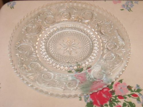 Clear Sandwich Glass Vintage 7