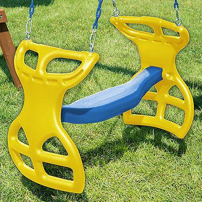 Swing-n-Slide Dual Ride Glider Yellow