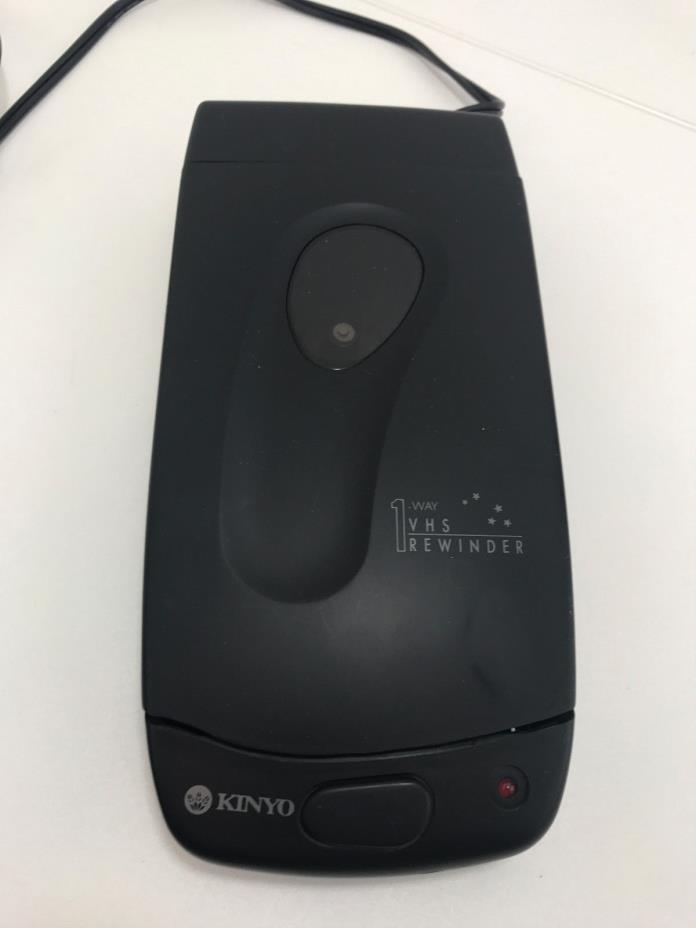 Kinyo VHS VCR Tape Rewinder UV-428 1-Way Rewinder WORKS Lot 04028