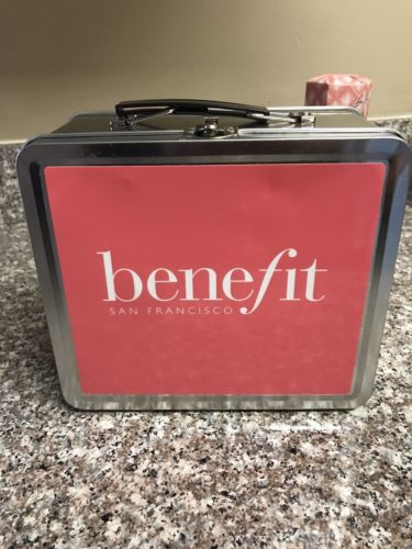 Benefit Metal Lunch Box