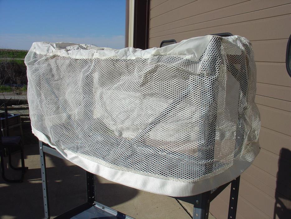 OEM White Snapper Bag for Single Bagger 7024819, 24819 Grass Catcher New!