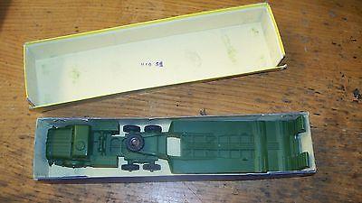 Dinky toys Tank Transporter 660, Horneycroft mighty Antar truck, Box