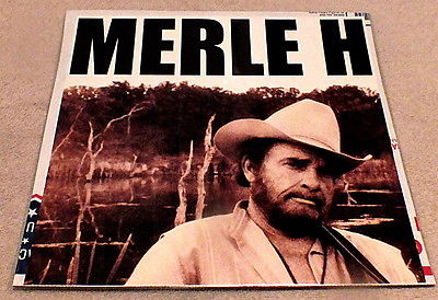 Merle Haggard If I Could Only Fly Poster Flat 2000 Merle H, in large Cap letters
